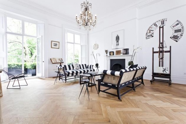 Bold and engaging detail a modern classic interior