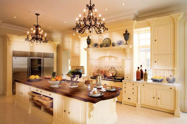 warm kitchen design Cozy: Bright Kitchen Designs – Adorable Home