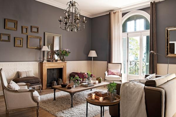 Classic Interior Design in Barcelona  Adorable Home