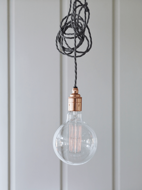 Chic Industrial Style Lighting  Adorable Home