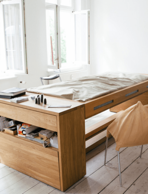 Convertible Desk Bed From BLESS  Adorable Home