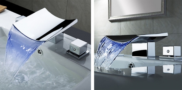 Cool and modern bathroom sink faucets  Adorable Home