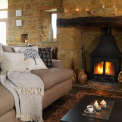 Country Living Rooms With Fireplaces Gray Couch Room Design Designs Adorable Home