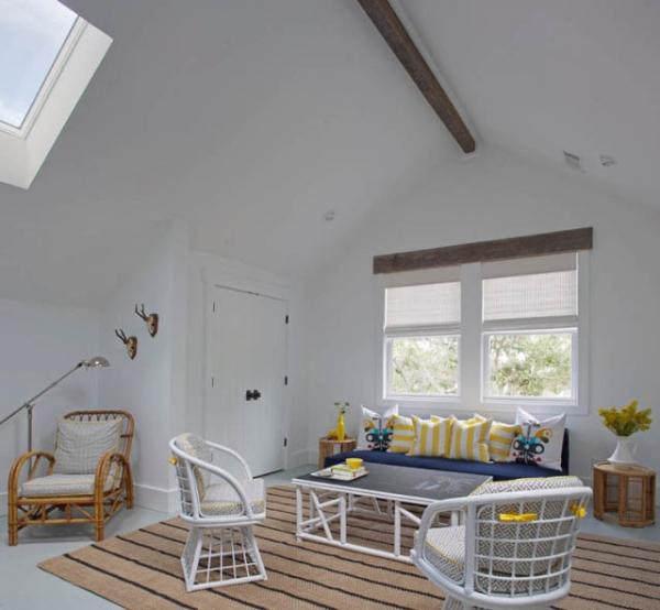Cute beach house design