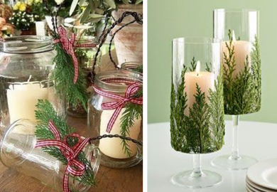 Christmas Jar Decorating Ideas