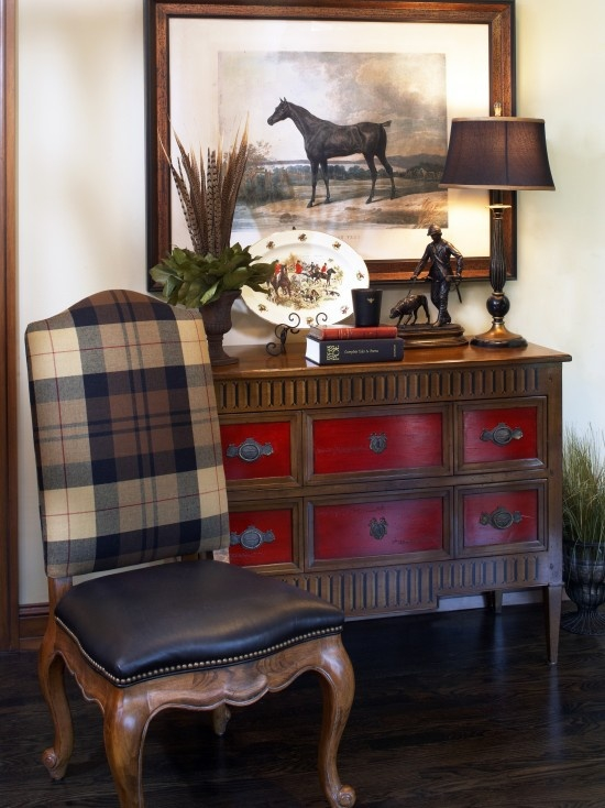 Decorating with plaid pattern  Adorable Home