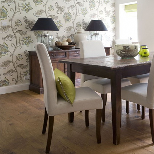 Dining room wallpaper designs