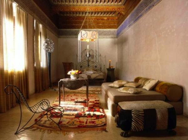 Exotic Interior In Marrakech Adorable Home