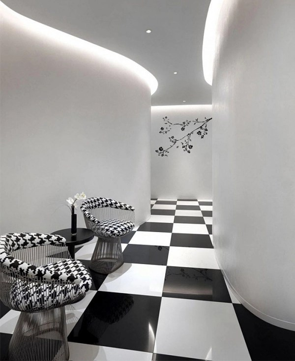 Gorgeous black and white boutique hotel in Singapore  Adorable Home