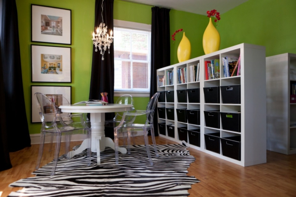 Modern and glamorous office design  Adorable Home