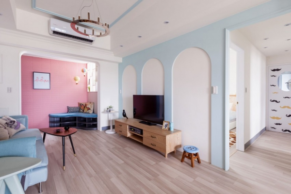 Pastel apartment in Wonderland  Adorable Home