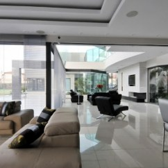 Living Room Led Lighting Corner Couch Small House Cal: A Stunning Modern Mansion – Adorable Home