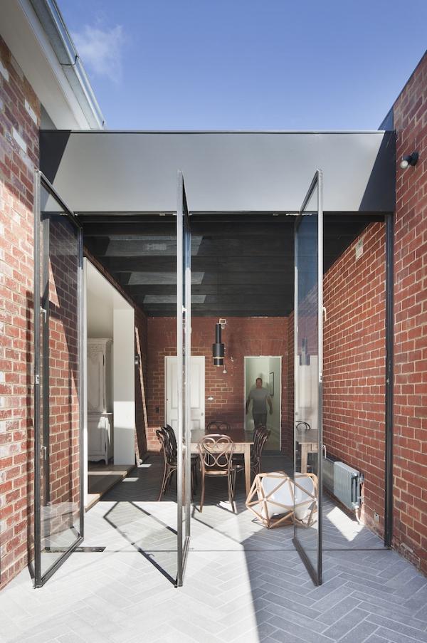 Sturdy red brick walls in Australia  Adorable Home
