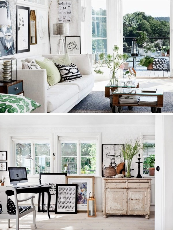 Swedish style summer cottage