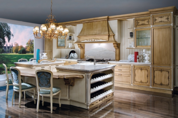 The Fenice Baroque Style Kitchen  Adorable Home