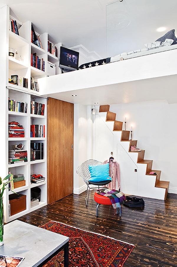 Tiny Swedish apartment  Adorable Home