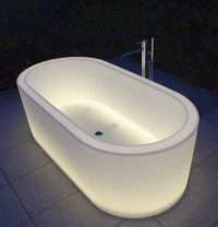 Unique illuminated bathtubs  Adorable Home
