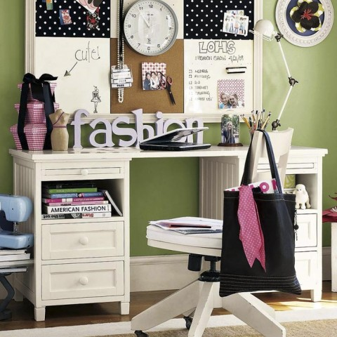 Unique Teenage Study Room Designs