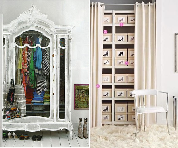 Which one of these walk in closets is your dream closet