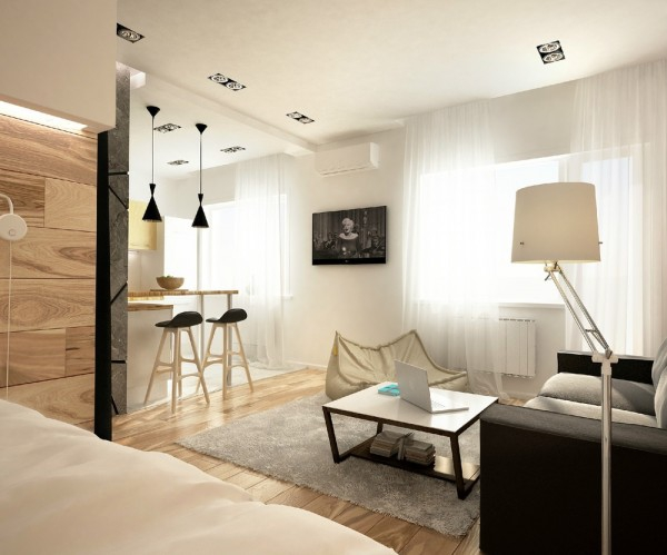Young Fresh  New Modern Studio Apartment  Adorable Home