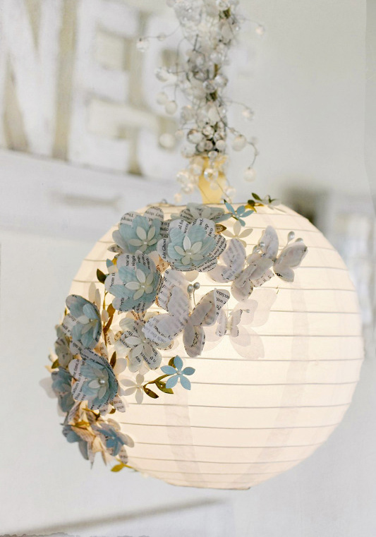 DIY a 3D Paper Lamp Image Guide  Adorable Home