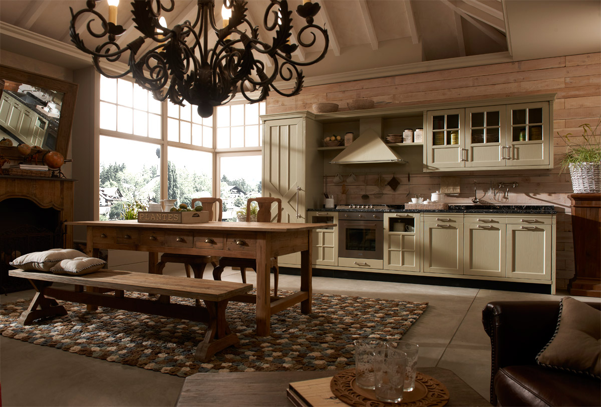 Vintage and Industrial Style Kitchens by Marchi Cucine  Adorable Home