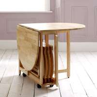Choose a Folding Dining Table for a Small Space  Adorable ...