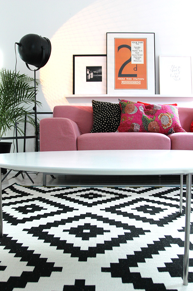 This beautiful IKEA rug would be a wonderful addition to