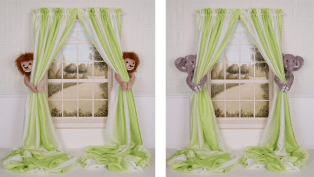 Childrens curtain tiebacks  Adorable Home