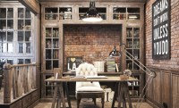 Vintage Office Design in Private Residence  Adorable Home