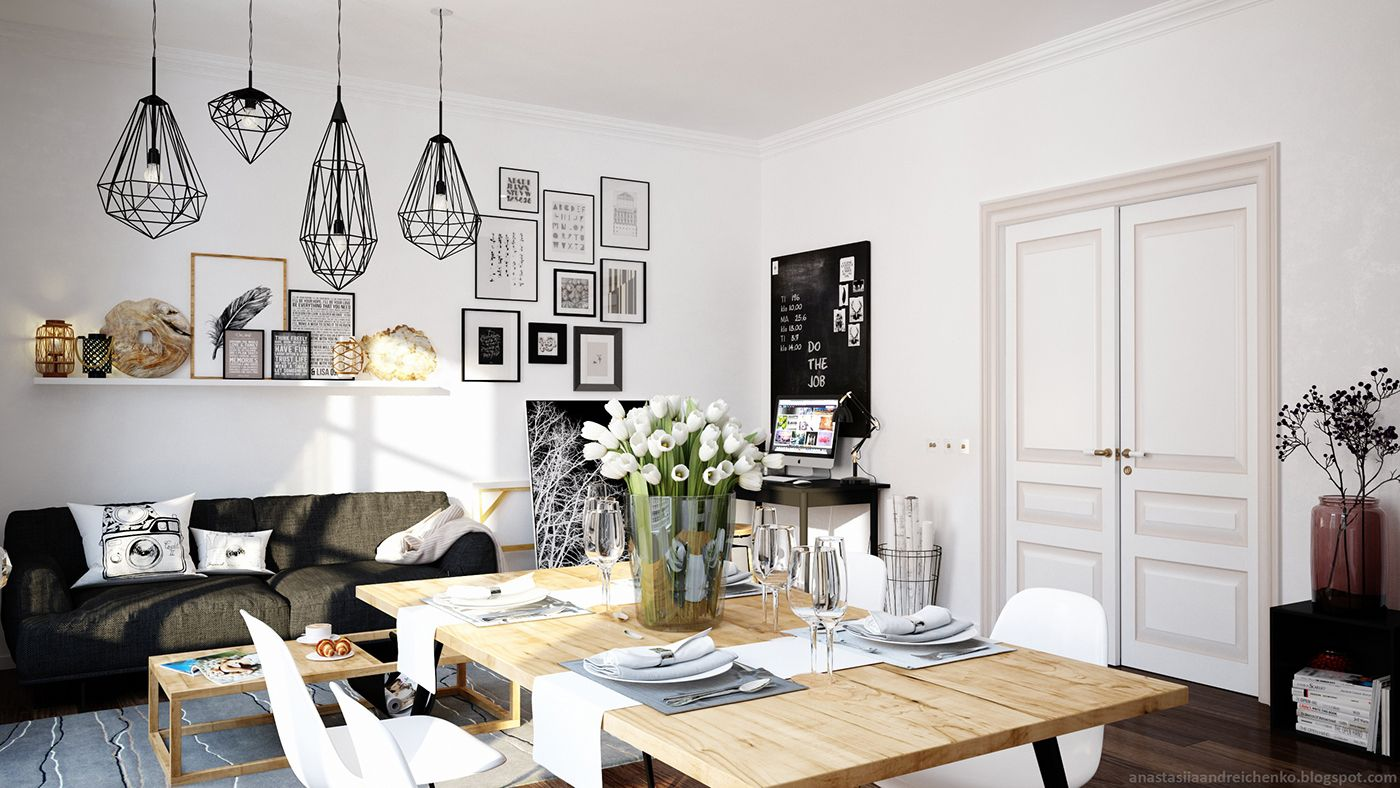 Published In: Apartments , Scandinavian
