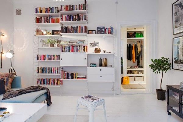 Small Scandinavian Apartment Big Impressions