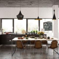 Contemporary Kitchen Light Fixtures Tuscan Island Design