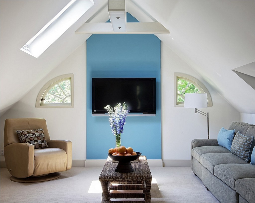 30 Attic Living Room Ideas  Adorable Home