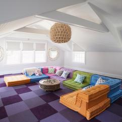 Interior Decor Ideas For Living Rooms Turn Room Into Art Studio 39 Attic That Really Are The Best Adorable Home Com White With Colorful Carpet And Furniture