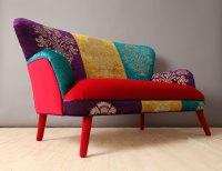 Colorful Velvet Sofa  Adorable Home
