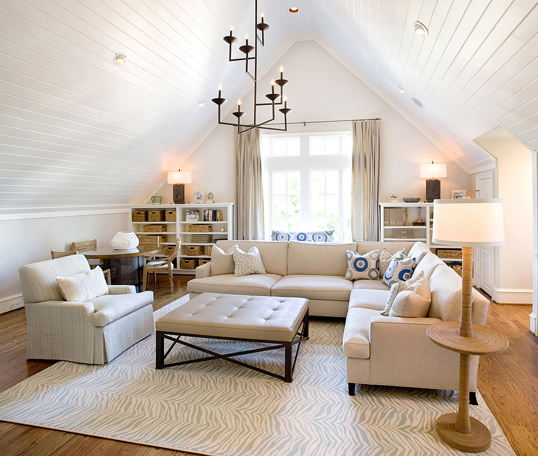39 Attic Living Rooms That Really Are The Best  Adorable