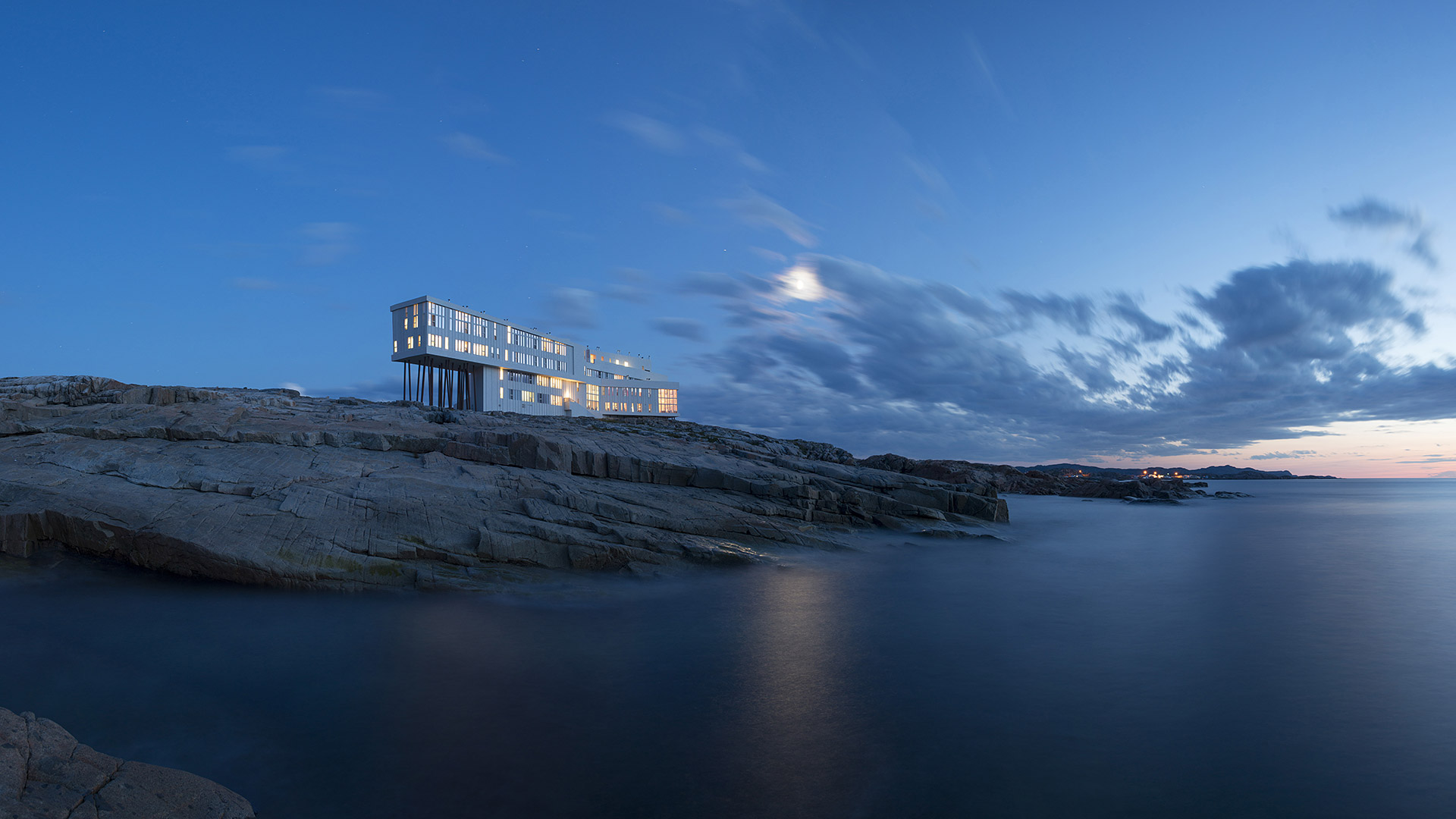 Fogo Island Inn When Modern Innovation  Culture Touch  Adorable Home