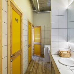 Ideas For Walls In Living Room Contemporary Design Modern Hostel Bathroom