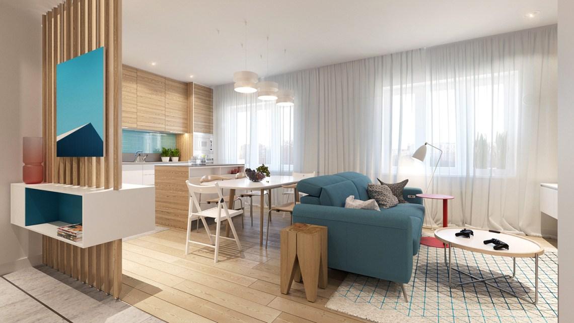 Colorful Modern Apartment Décor - Adorable Home