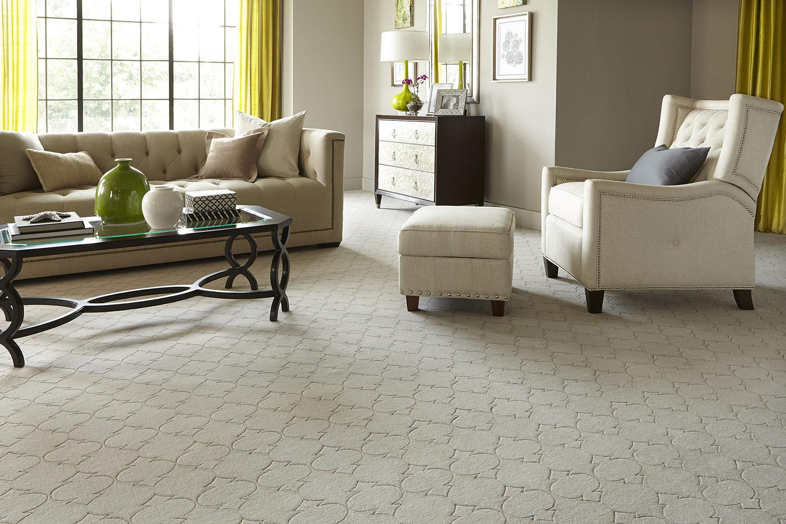 Small apartment ideas  Walltowall carpet