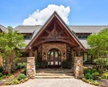 Rustic Stone Exterior Homes