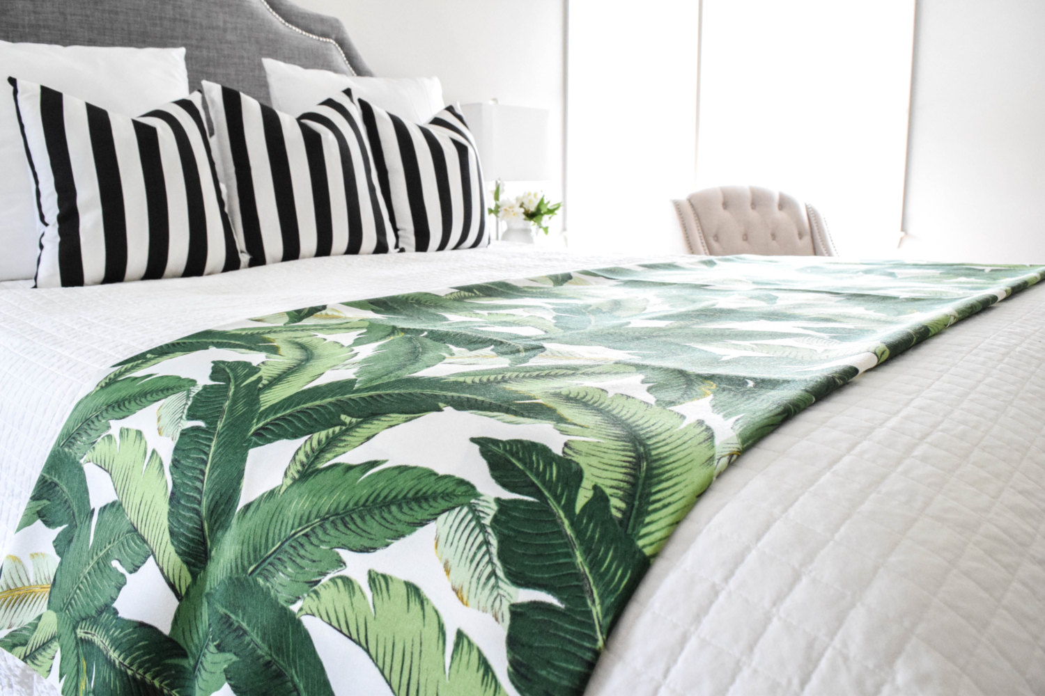 Cool Tropical Leaf Dcor Selected Items Available Online  Adorable Home