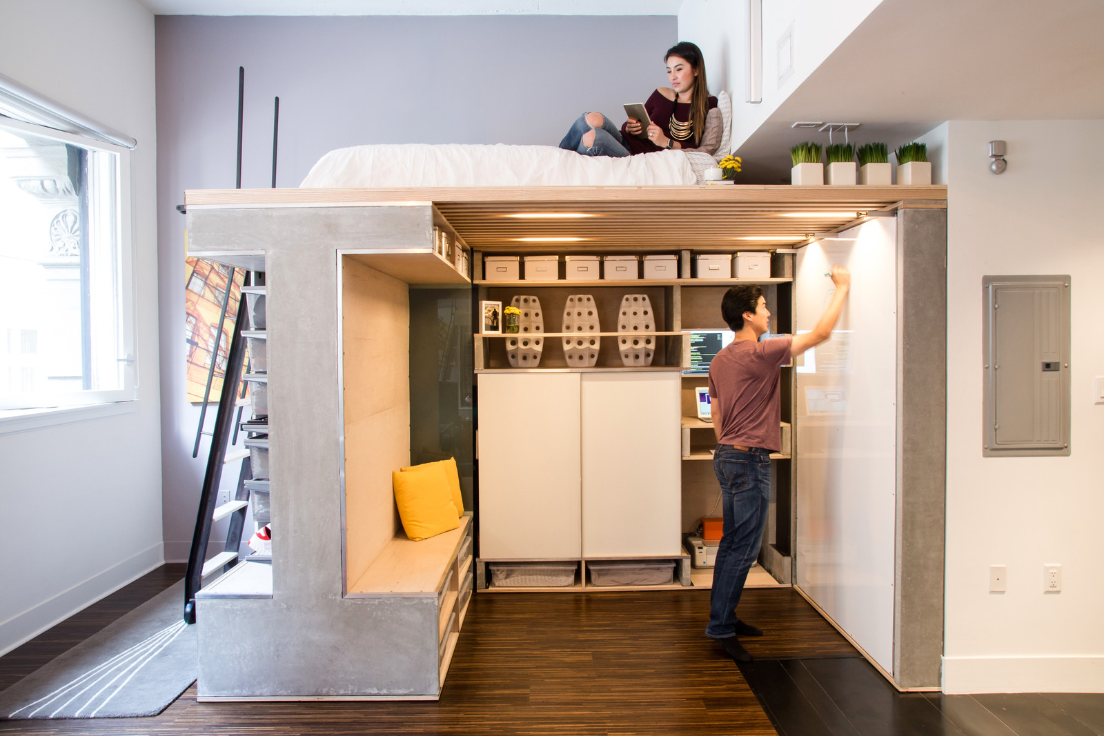 MultiFunctional Loft With Even More to Offer  Adorable Home