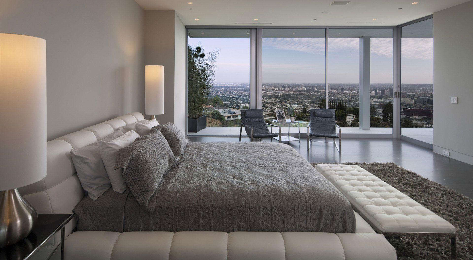 schlafzimmer fenster modern  schlafzimmer landhausstil