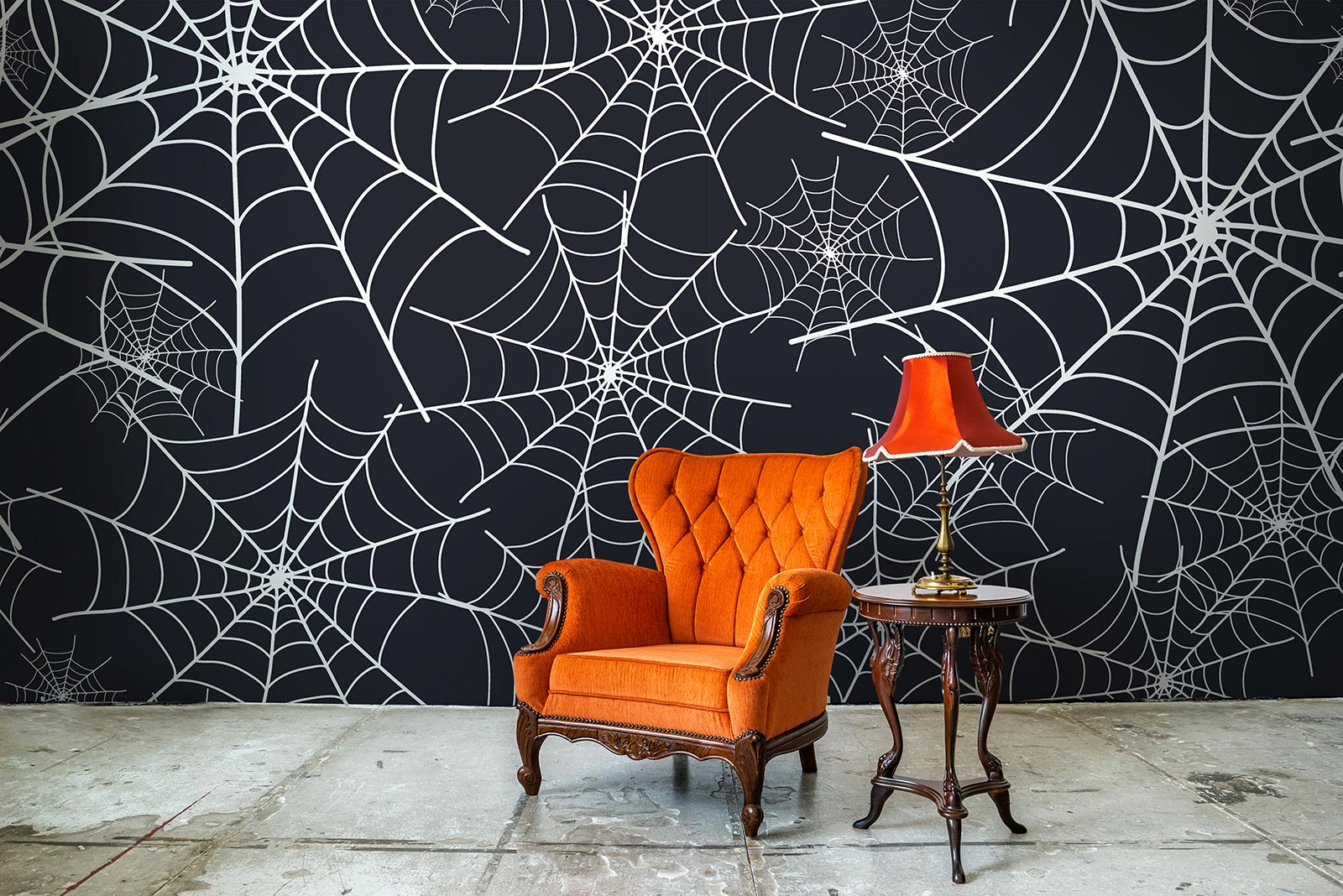 Mysterious  Cool Halloween Removable Wall Decor