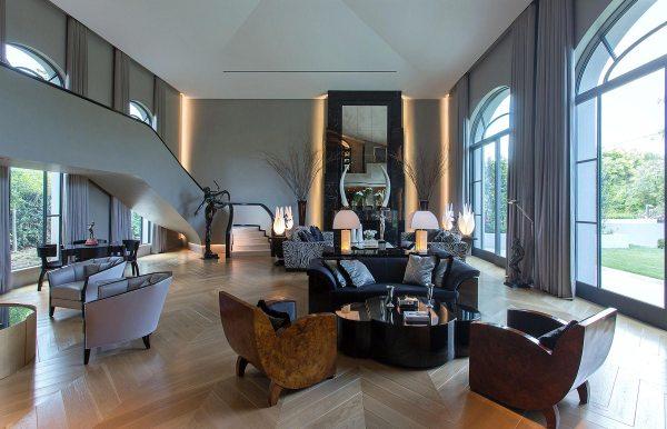 Art Deco Style Interior Home Designs