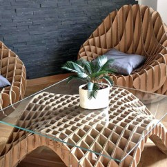 Used Kitchen Chairs Commercial Degreaser For Unique Furniture Made Of Recycled Cardboard – Adorable Home