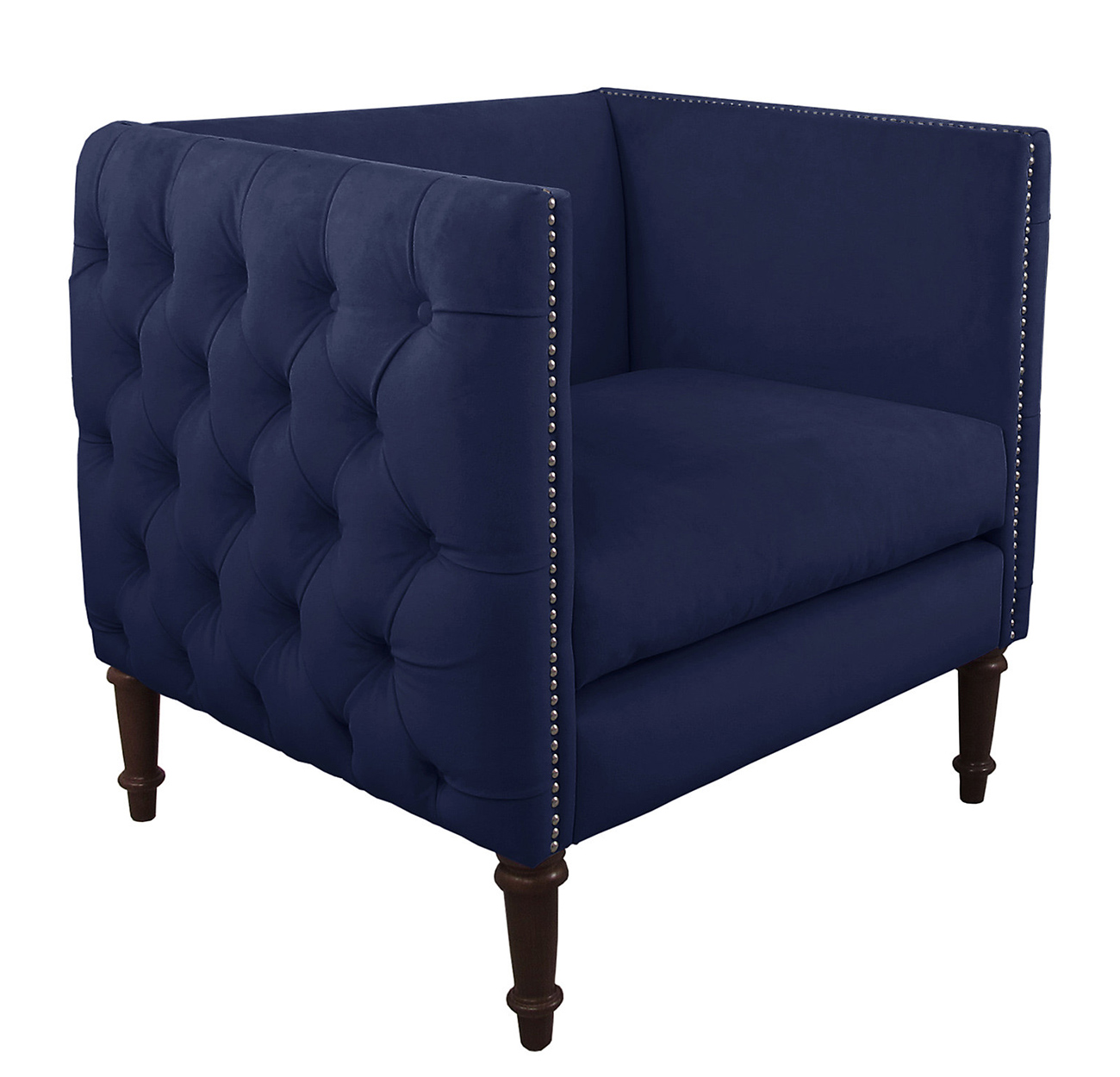 Blue Velvet Chair Navy Blue Living Room Ideas Adorable Home