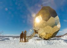 Spectacular Solar Egg Sauna In Sweden Adorable Home